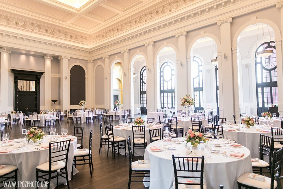 Sagamore Pendry Hotel Baltimore wedding reception  ||  tPoz Photography