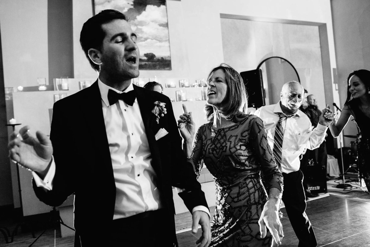 bride and groom dancing at Four Seasons Resort Rancho Encantado Santa Fe