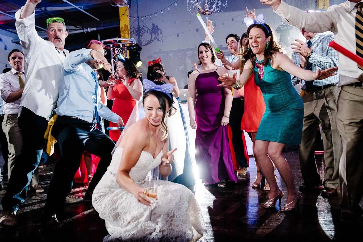 wedding reception at epic railyard in el paso by stephane lemaire photography