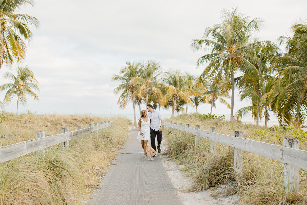 Crandon Beach Engagement Photography Session 1
