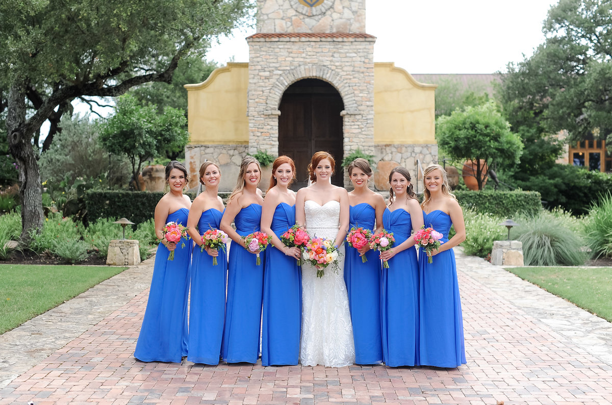 Colorful and Cheerful Hill Country Wedding Portraits (354)