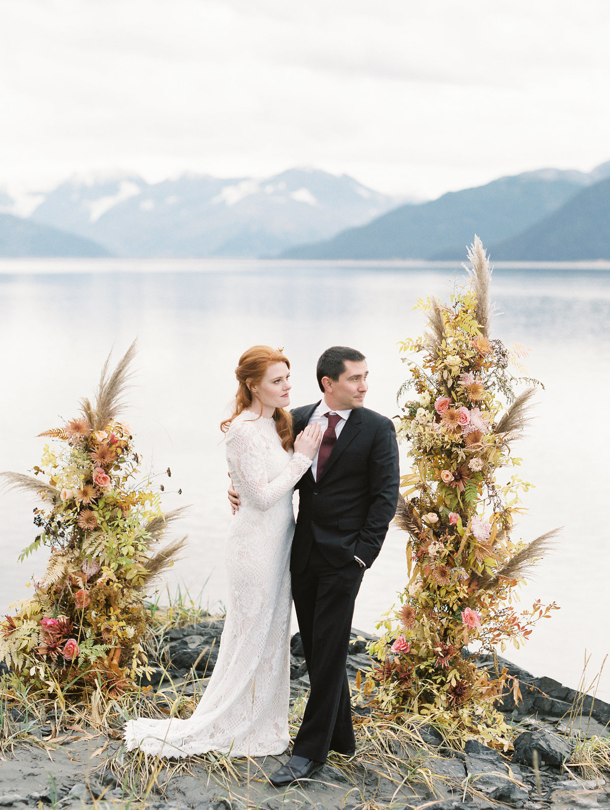 Alaskan elopement  Girdwood photographer
