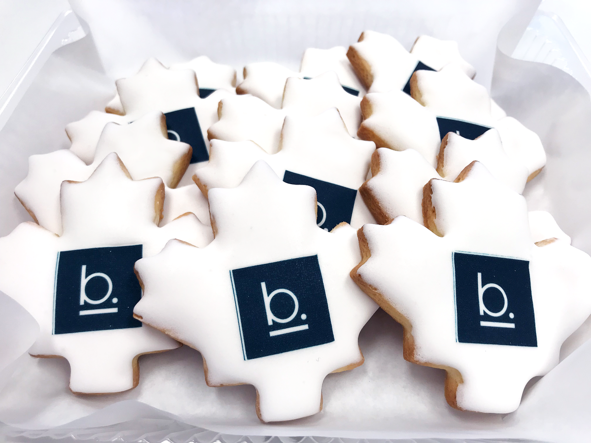 Whippt Desserts - corporate logo sugar cookies