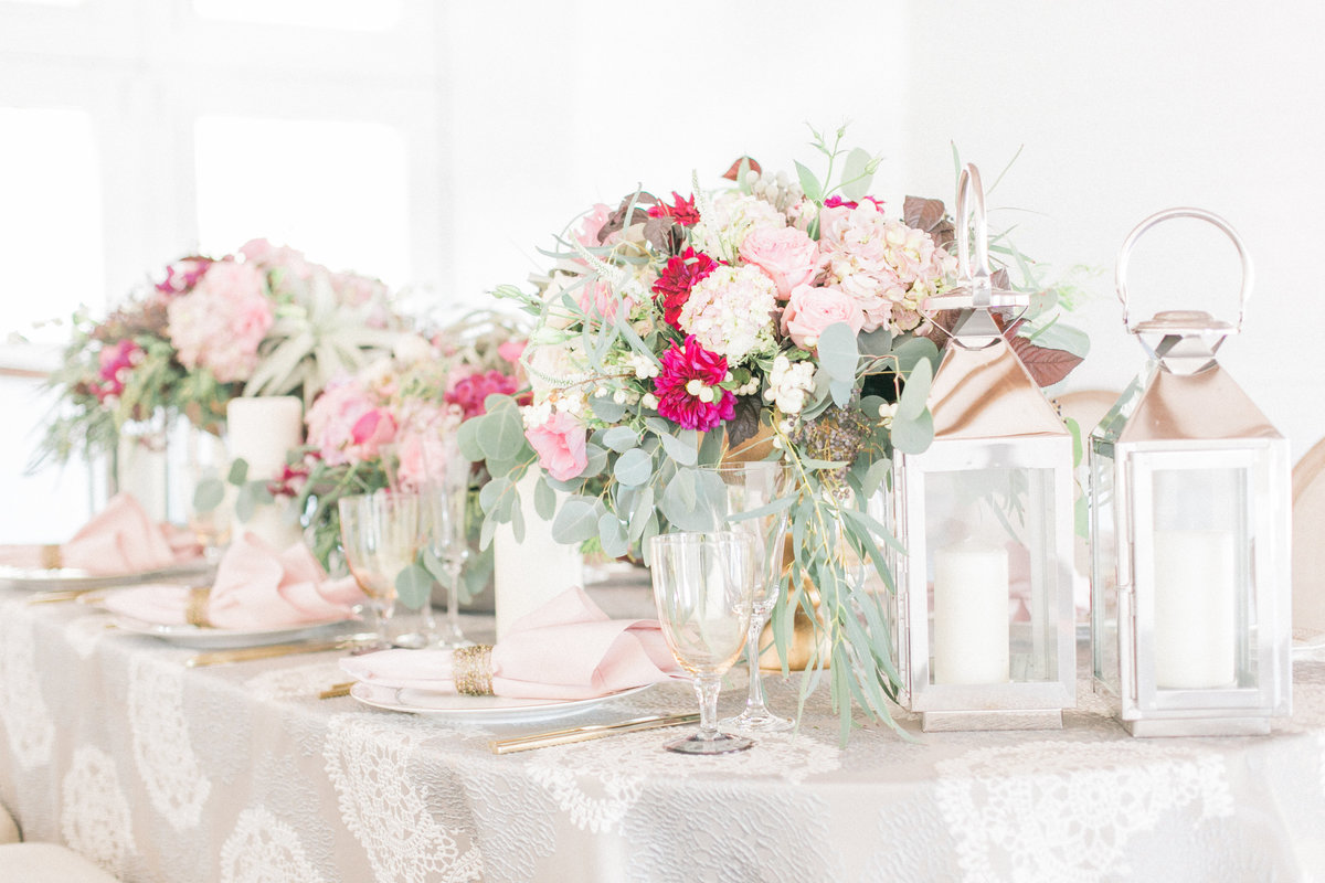 Luxe Country Table Spring Wedding Decor