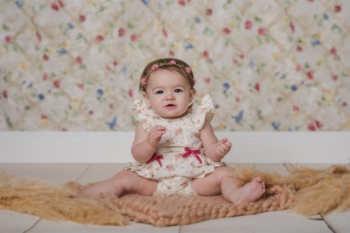 9 Month old professional photos