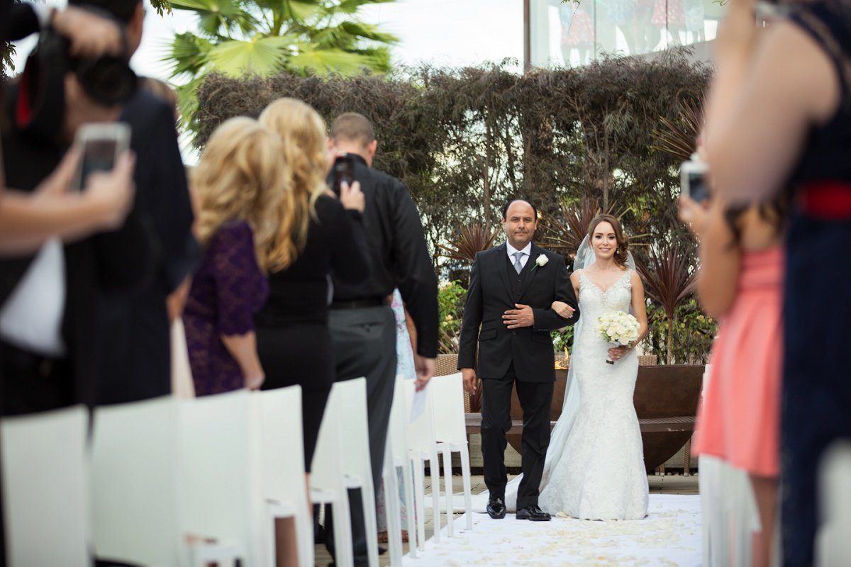 Orange-County-Wedding-Photographer-Los-Angeles-Wedding-Photography-Wedding-Ceremony at Hotel Maya in Long Beach