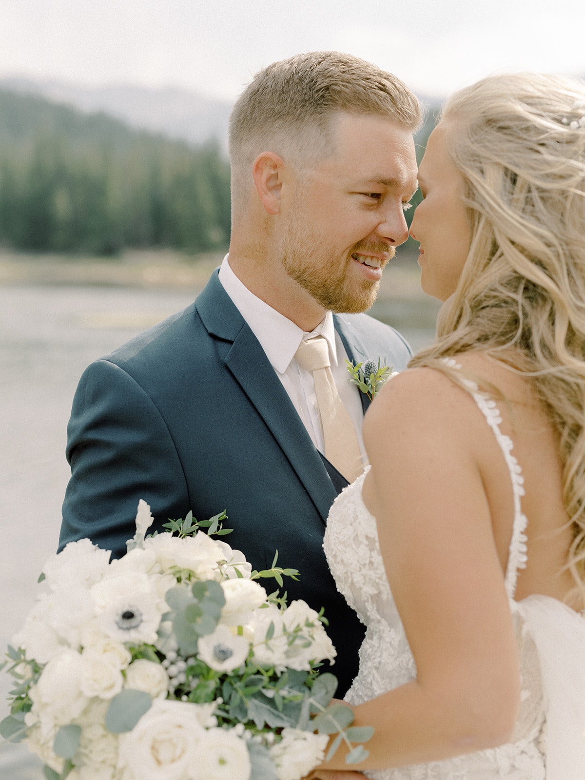 Tear & Tyler. Colorado Wedding by Alp & Isle. First Look-19