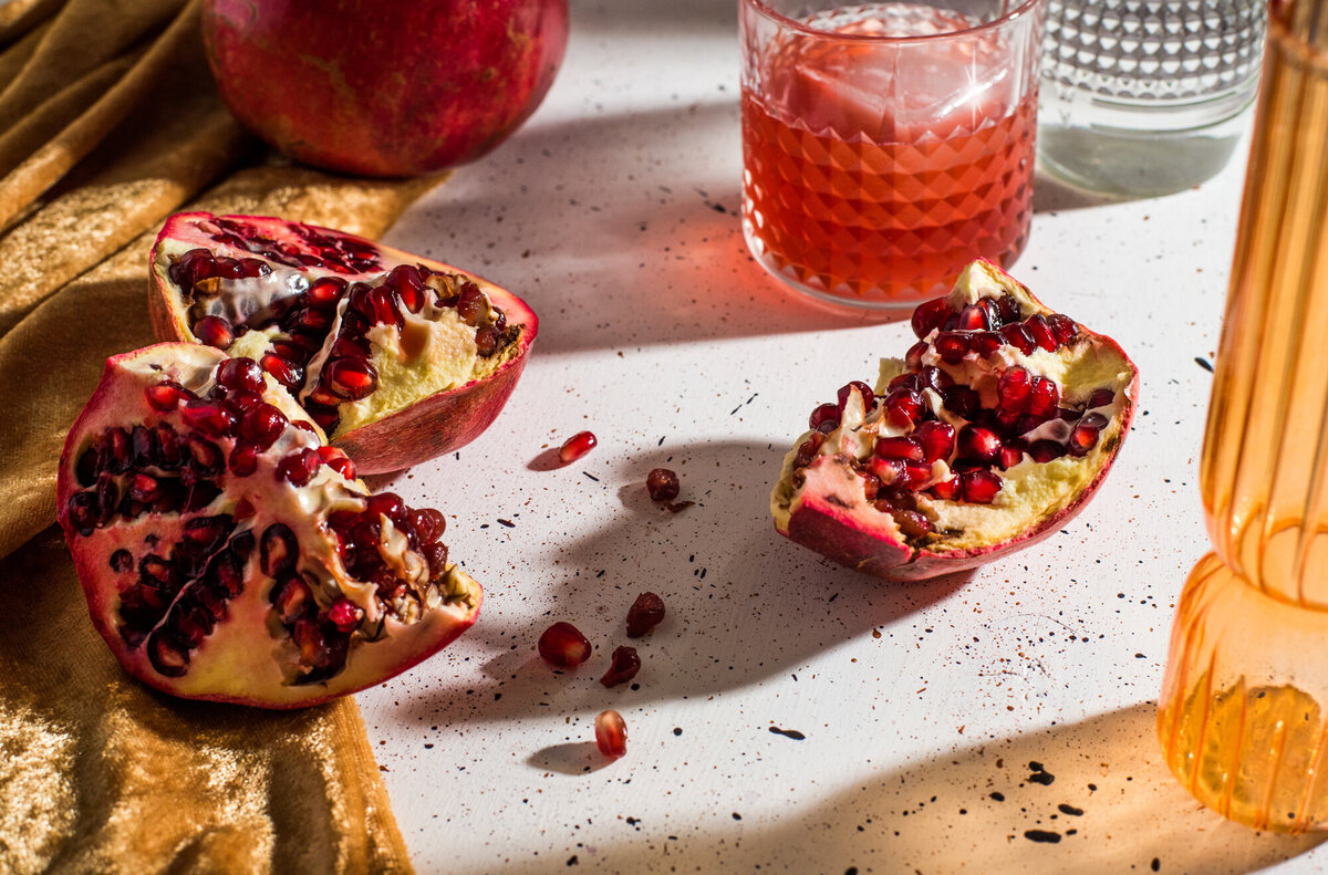 still life photography pomegranate los angeles
