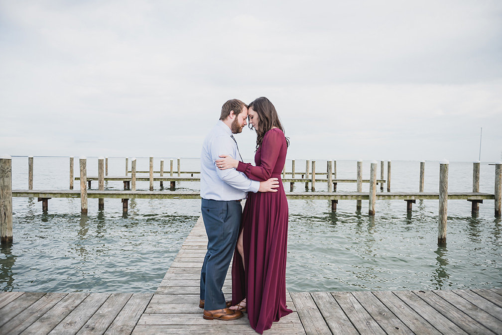 lake front new baltimore engagement photos