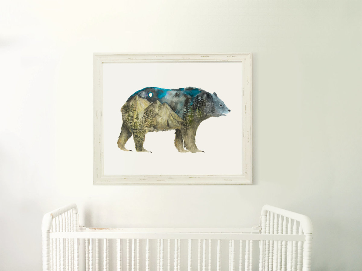 Galaxy_Bear_Profile_Mountain_Night_Printable_Artwork_-_Animal_Nursery_-_Watercolor_-_Northern_Lights-481239163-_1