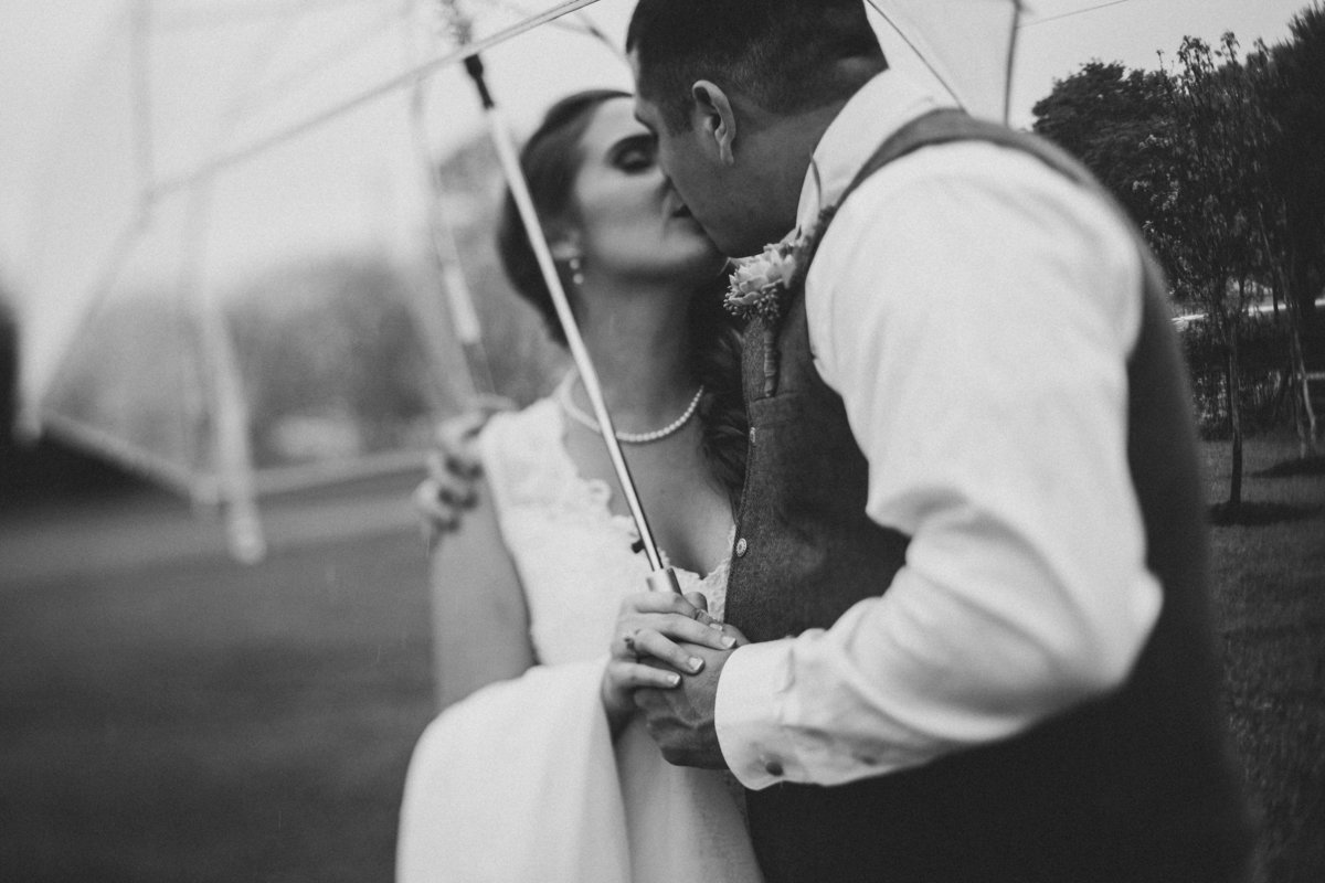 umbrella-bride-groom-kiss-houston