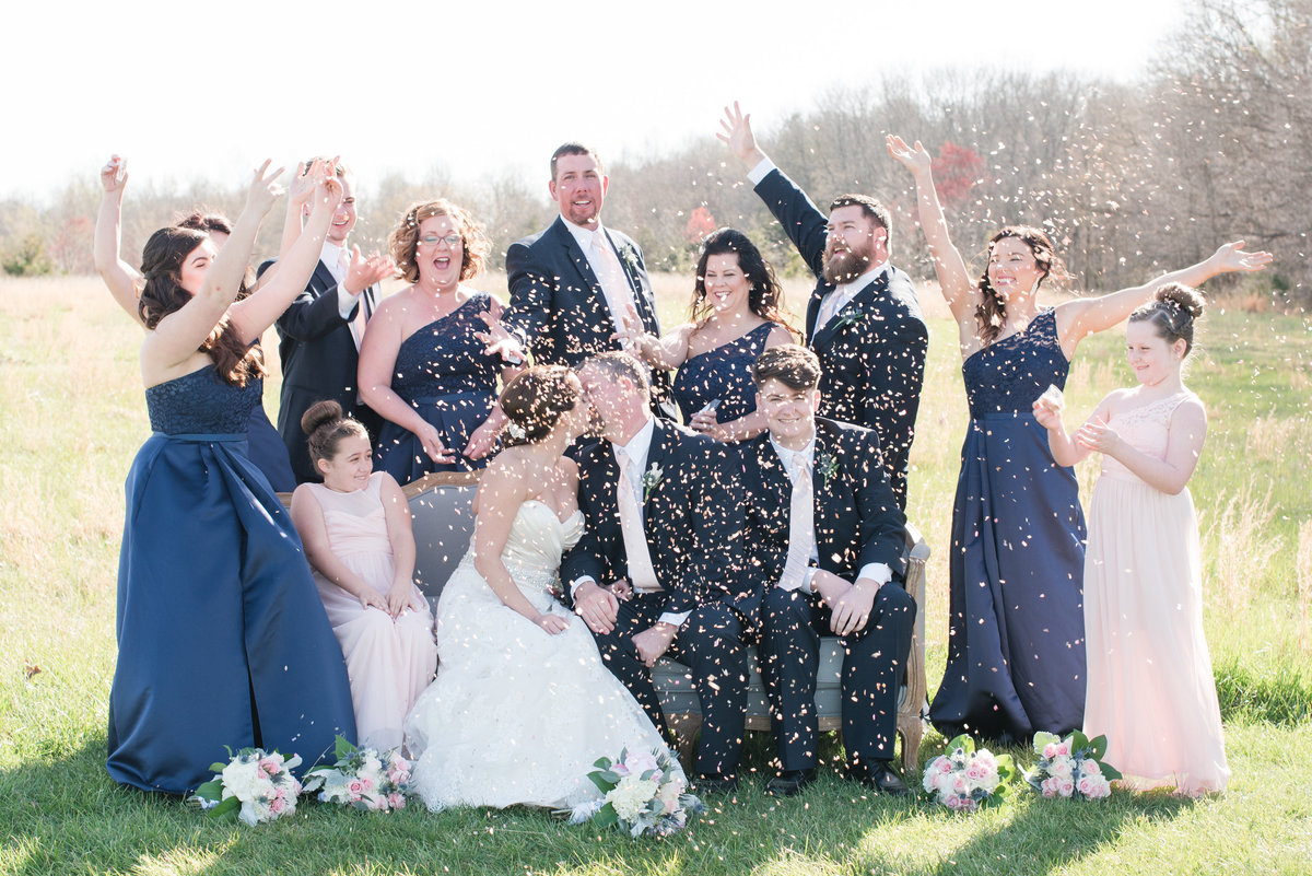 A Country Chic Starlight Meadows Wedding, Michelle and Sara Photography, Burlington NC126