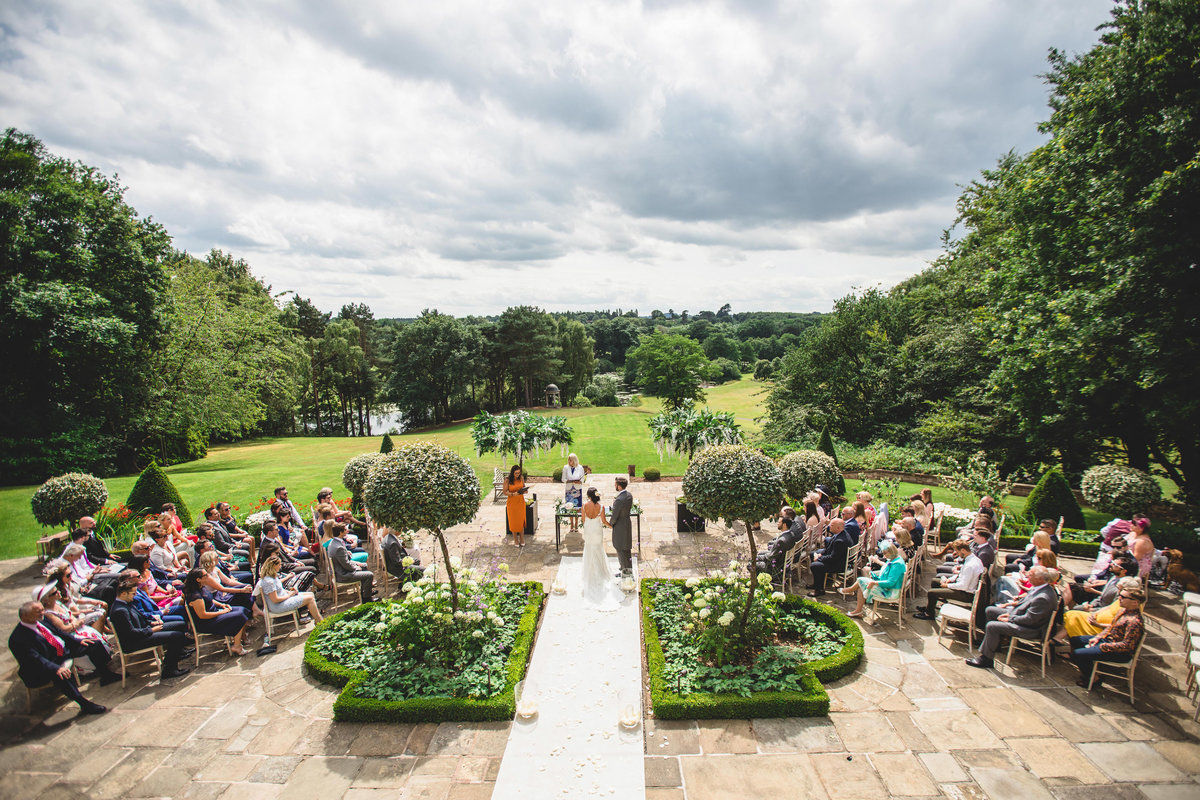 delamere manor ceremony wedding