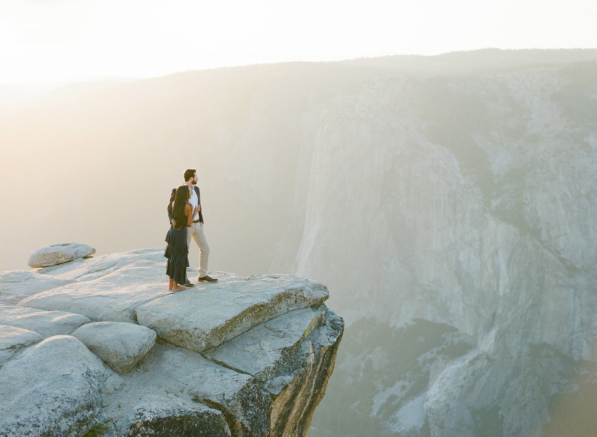 66-KTMerry-engagement-photography-mountain-top-Yosemite