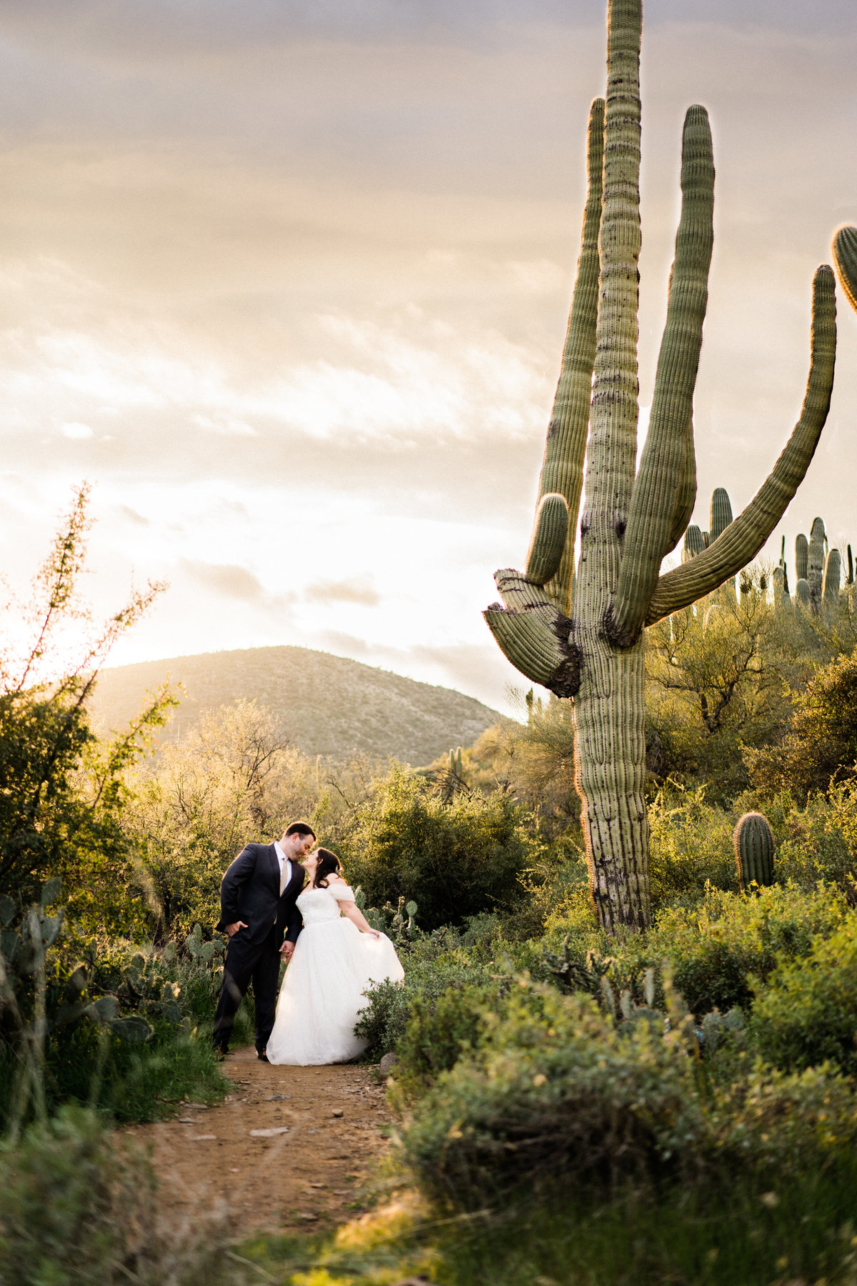 Arizona Wedding Portraits In Cave Creek - Atlas Rose Photography AZ01