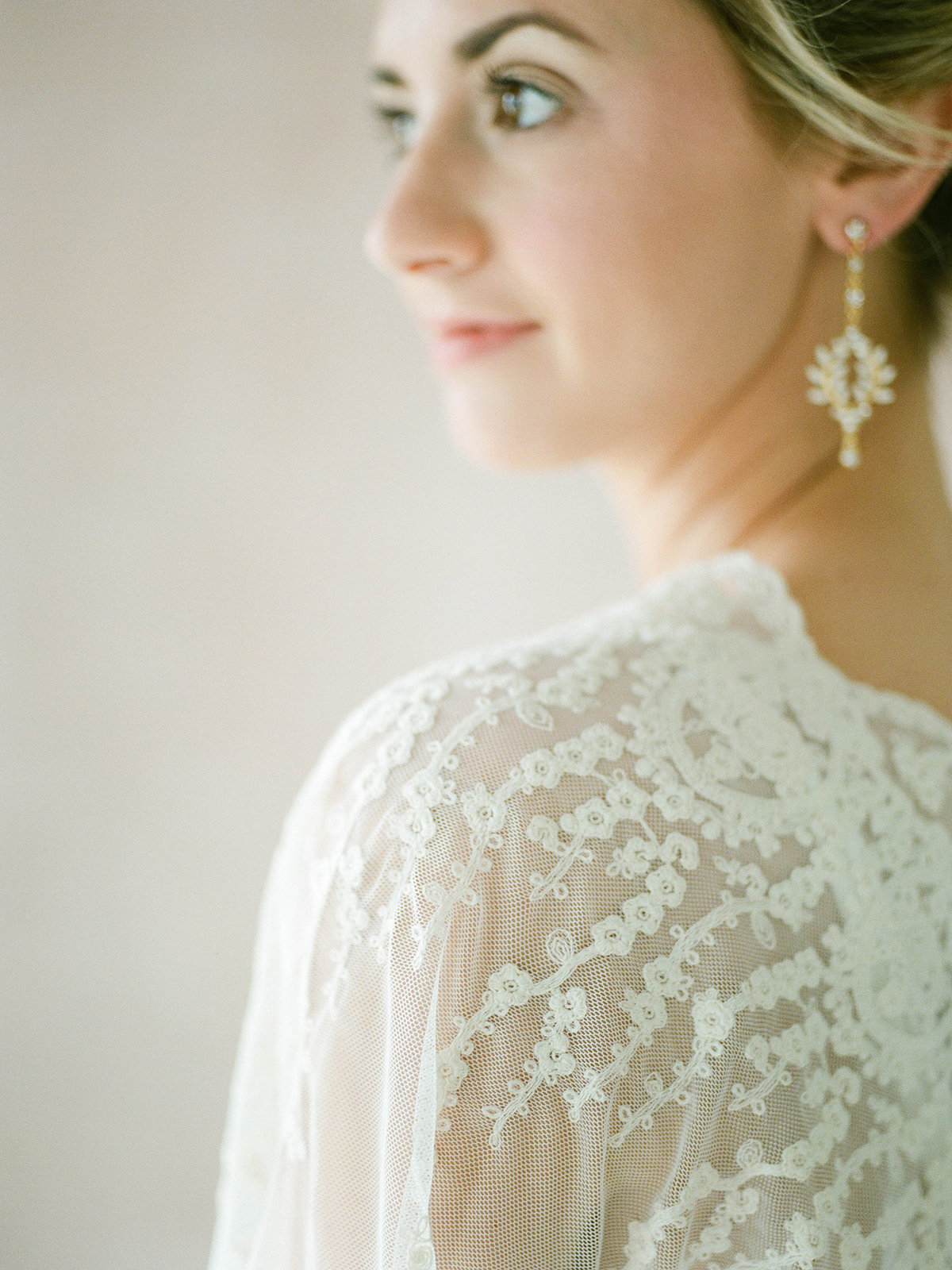 Fine Art Bridal Portraits - Sarah Sunstrom Photography - Film Wedding Photographer - 29