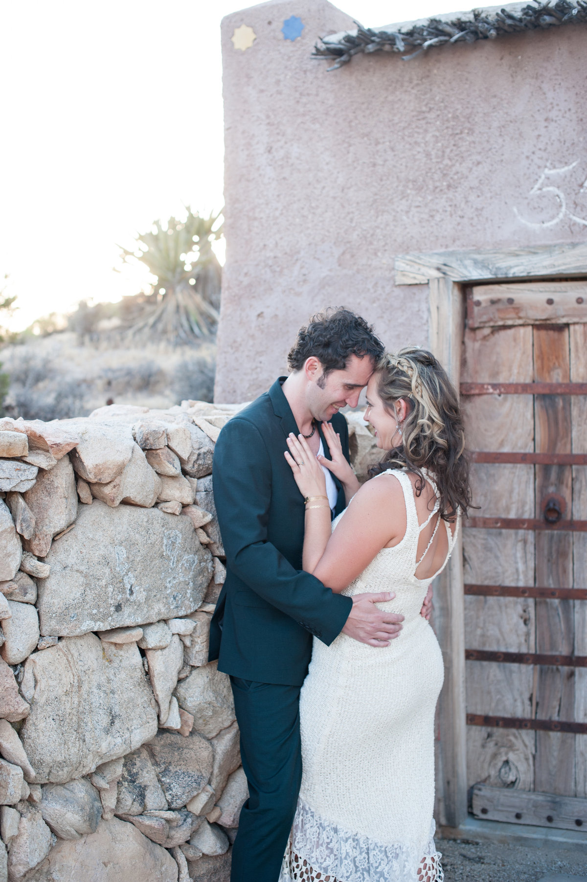 Destination Wedding Photography Joshua Tree Wedding Photography Le Haut Desert Aerie080