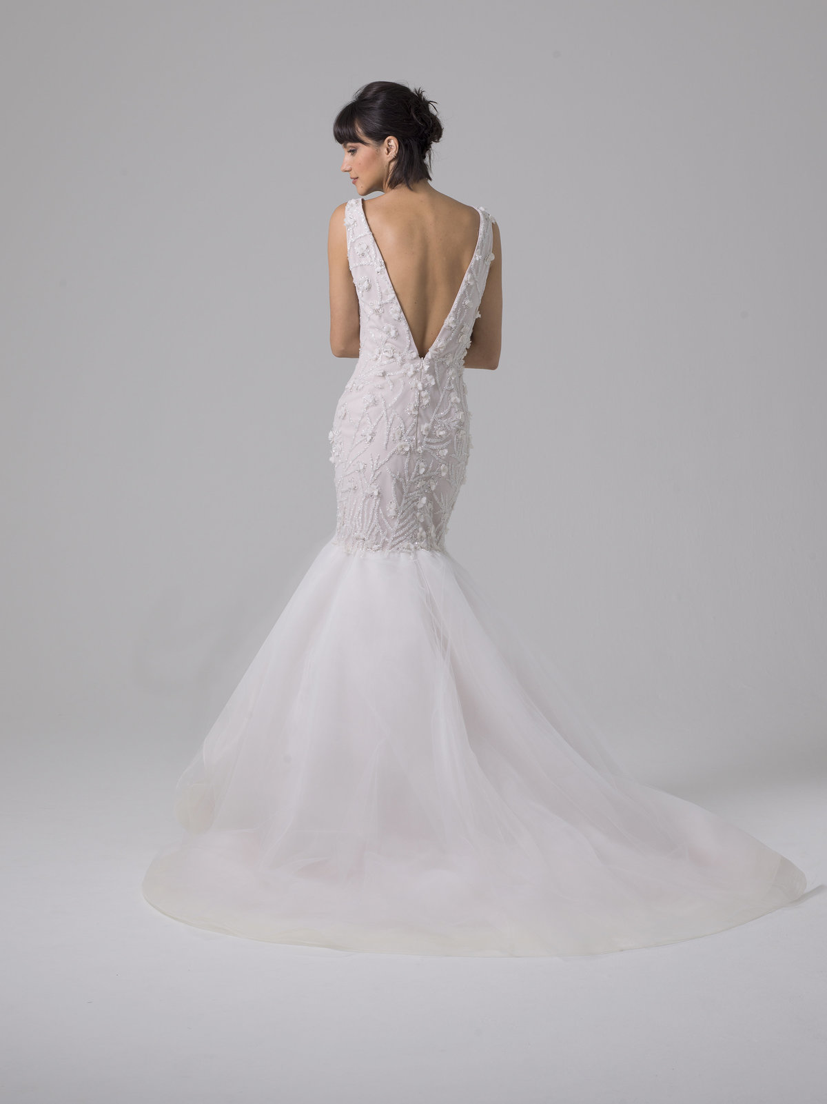 Liancarlo Fit to Flare Wedding Dress