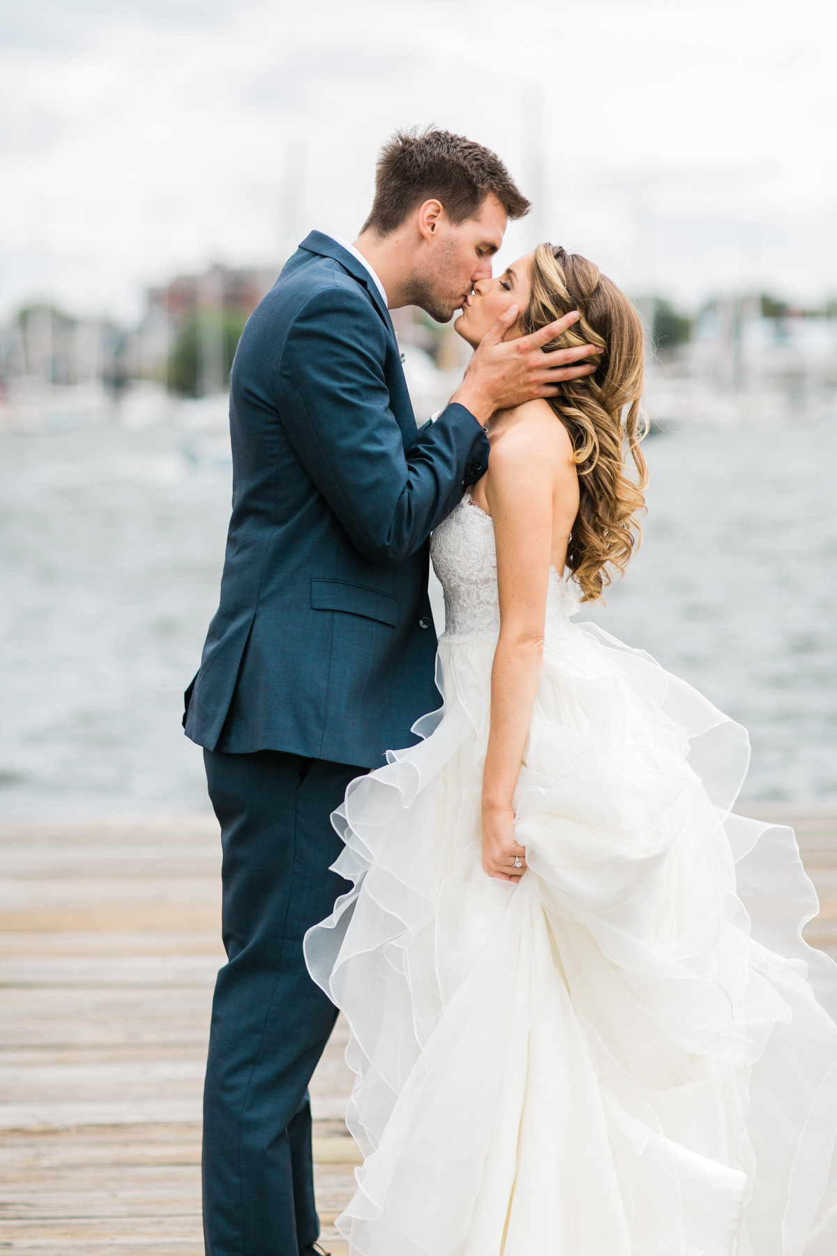 Annapolis Waterfront Wedding Portraits