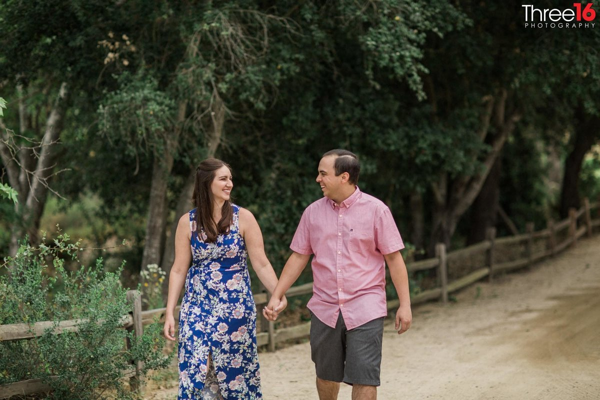 Thomas F. Riley WIlderness Park Engagement Nature Orange County Weddings Professional Photography