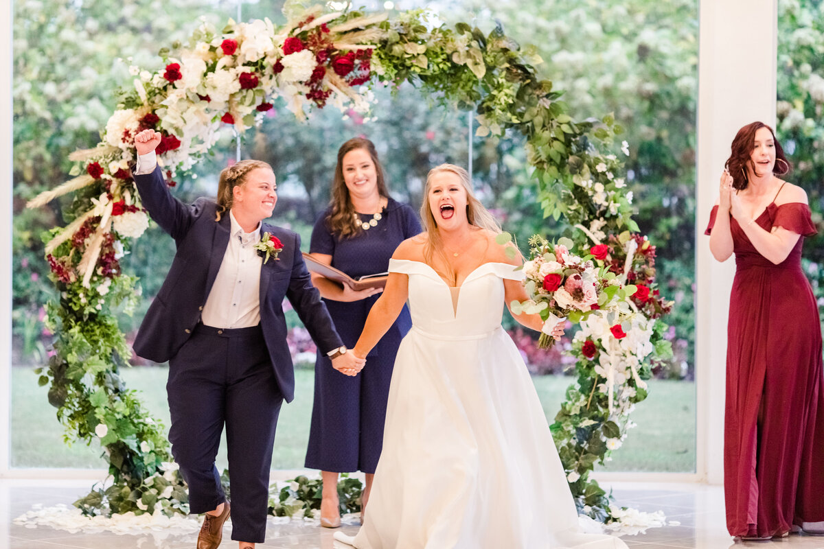 A same-sex wedding at the Tate House in Georgia by Jennifer Marie Studios, best Atlanta wedding photographer.