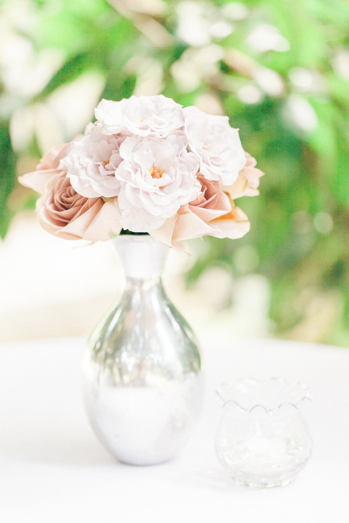 Blush Pink Wedding Reception Decor