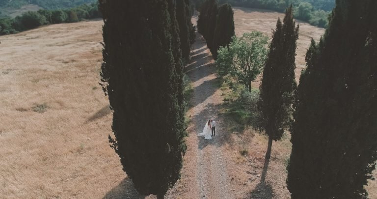 Laura en Ramon trouwen toscane love-shoot