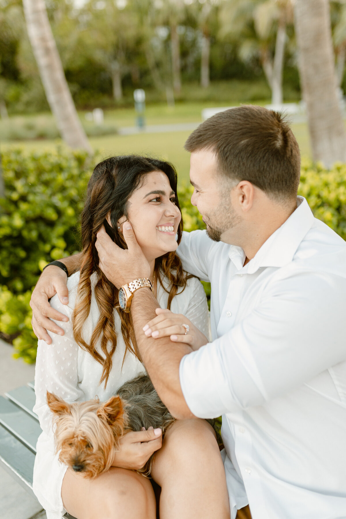 South Pointe Park Engagement Photography Session 7