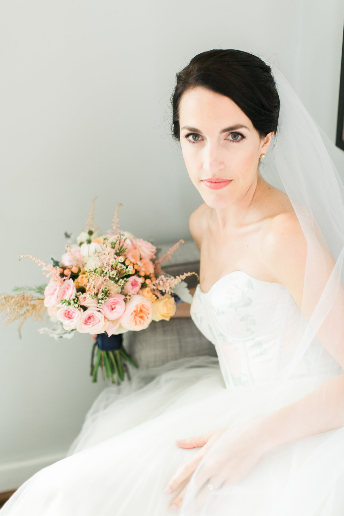 Beautiful Bride Annapolis Maritime Museum wedding photos