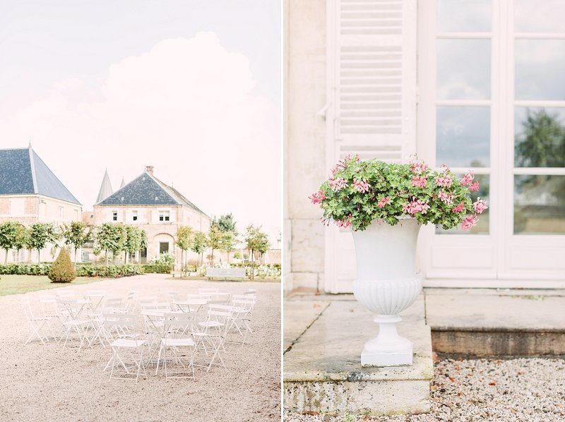Luxury Burgundy Wedding Venue