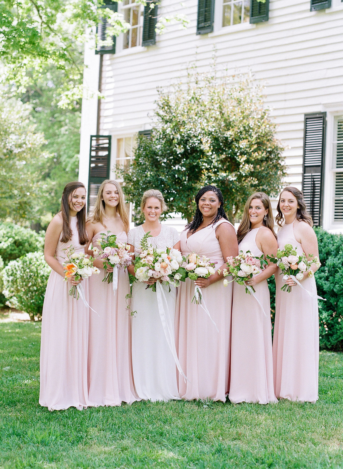Spring Look for Bridesmaids