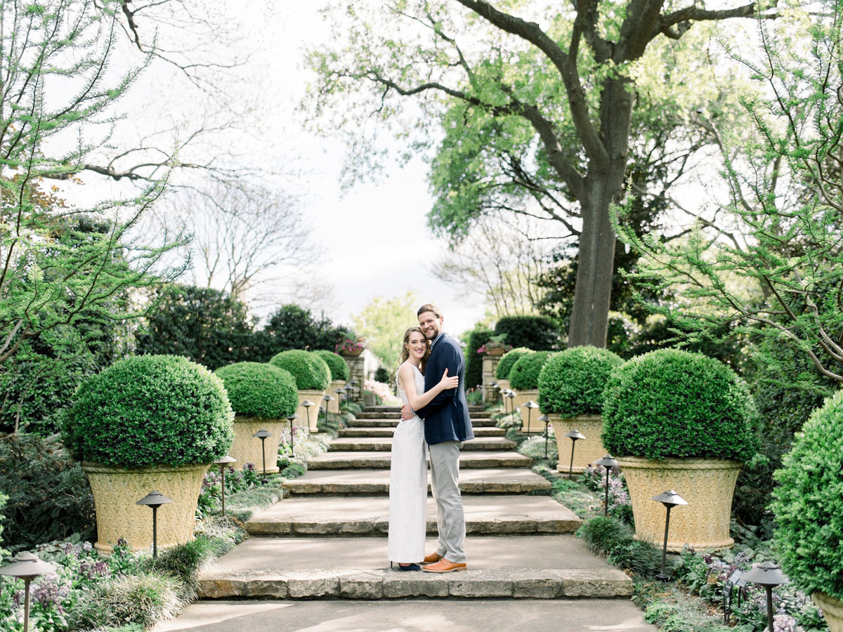 Courtney Hanson Photography - Dallas Spring Engagement Photos at Dallas Arboretum-2781