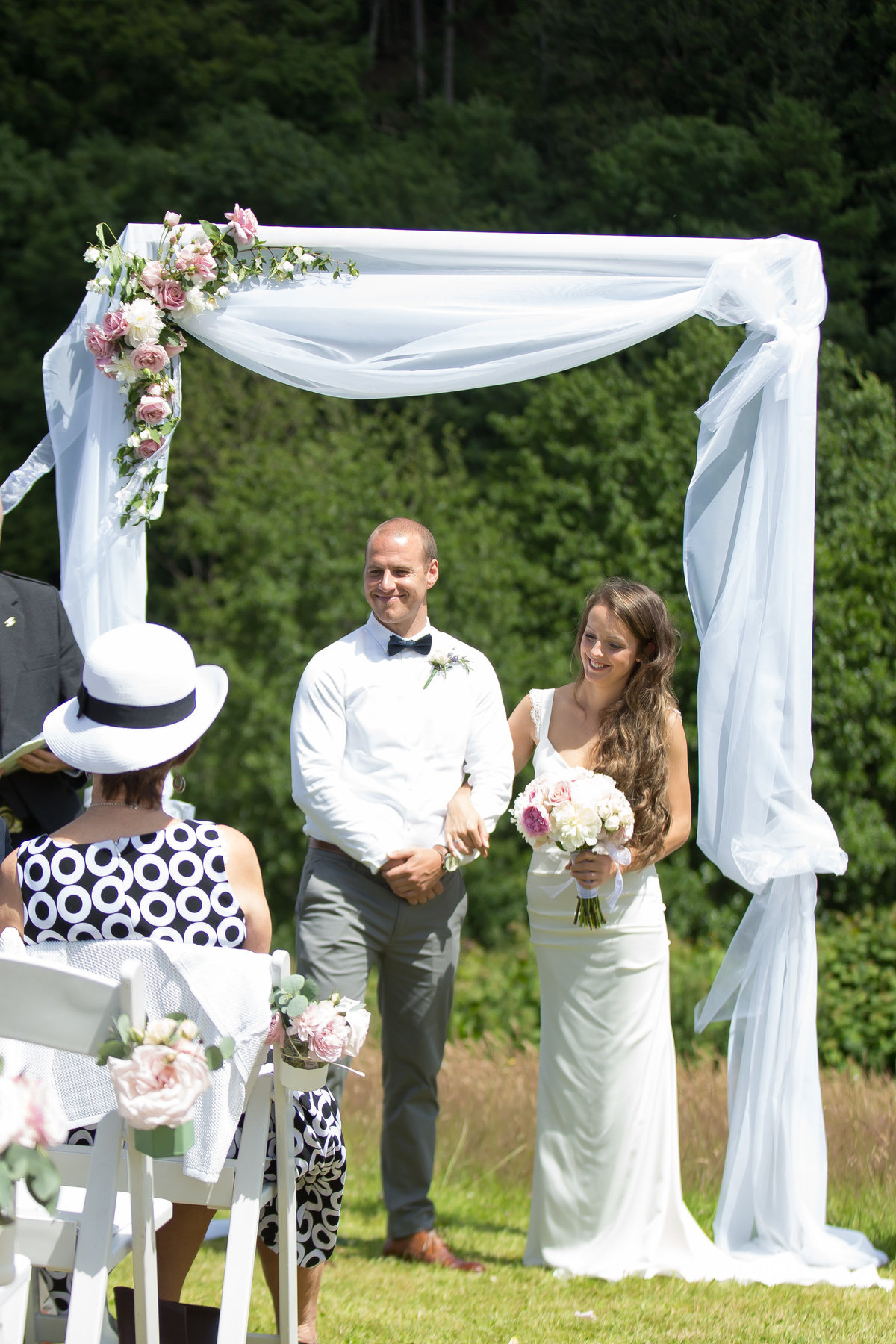 humanist outdoor natural wedding devon