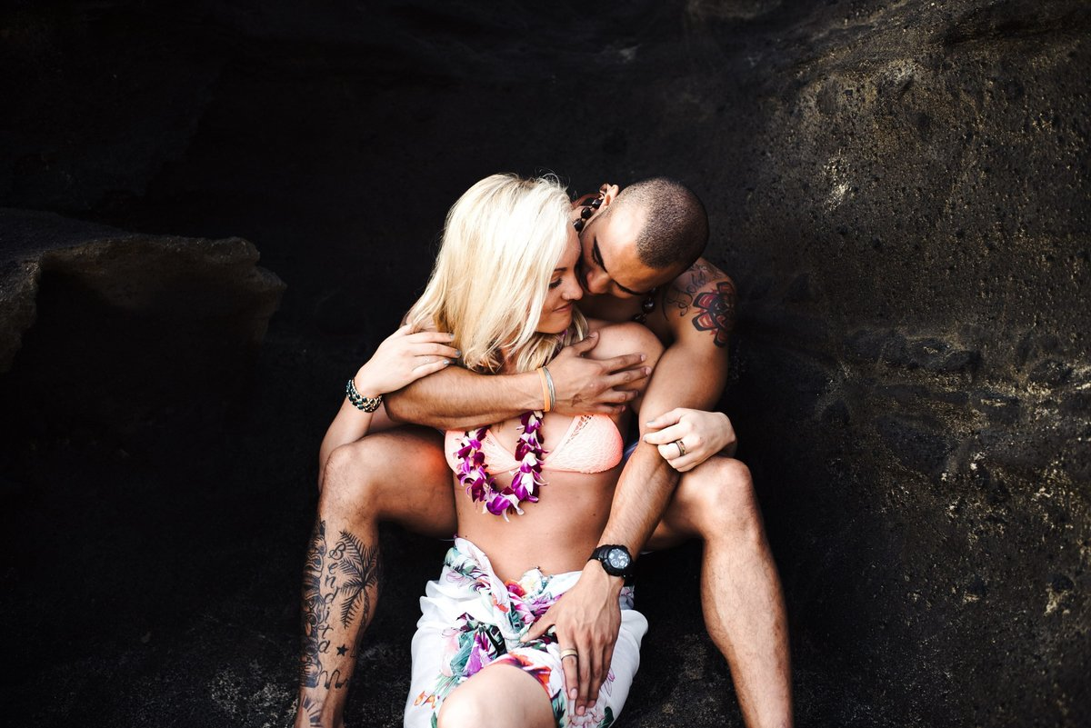 Eternity Beach Honolulu Hawaii Destination Engagement Session - 53
