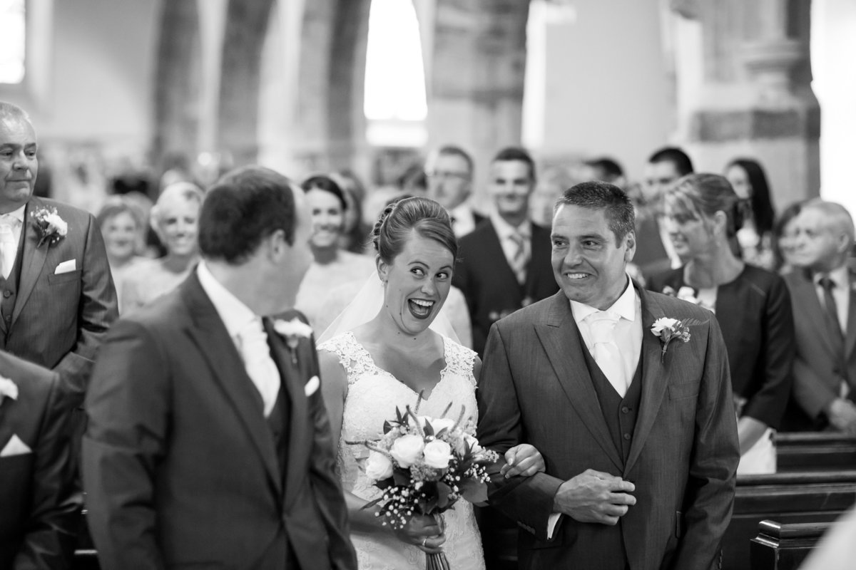 church wedding in north devon