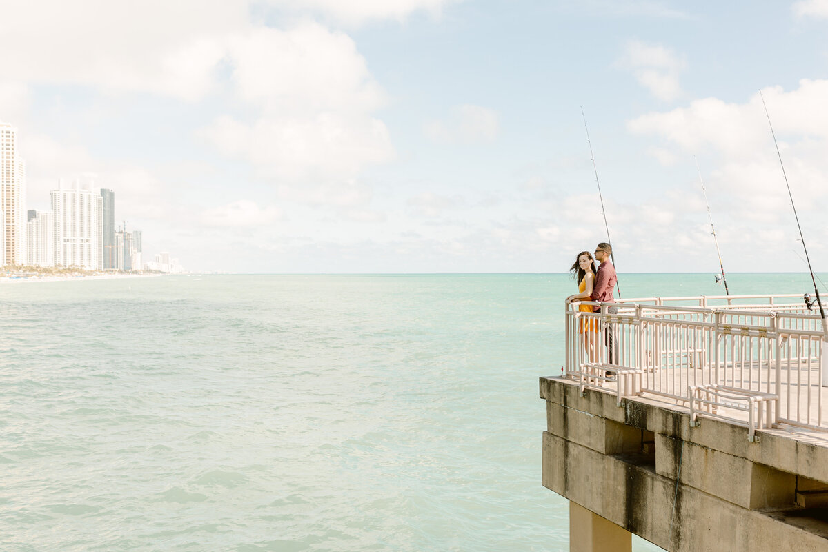 Sunny Isles Beach Engagement Photography Session 37