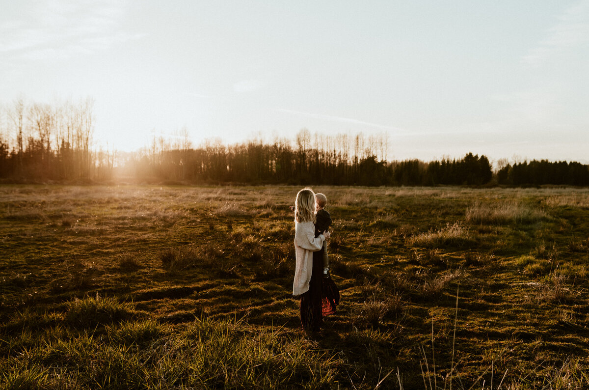 Maple Ridge sunset photography session