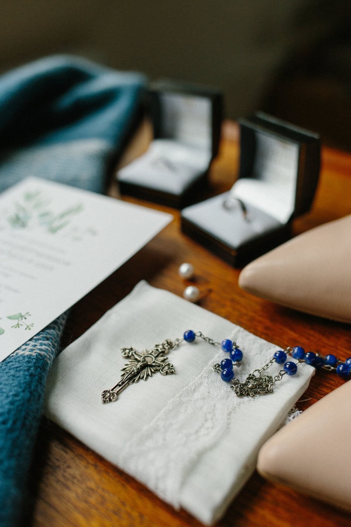 Catholic wedding rosary