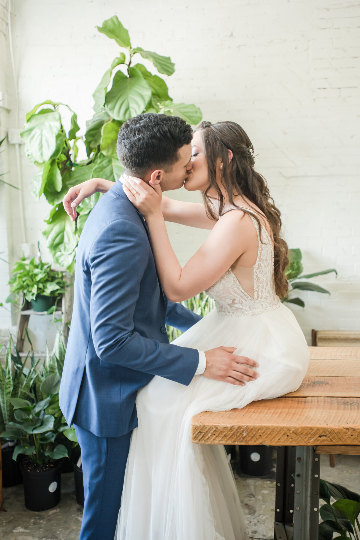 Tampa boho wedding at Fancy Free Nursery 23