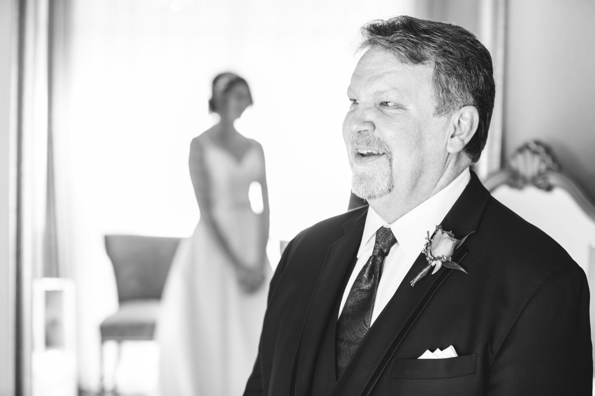 terrace club wedding photographer first look dad 2600 US-290, Dripping Springs, TX 78620