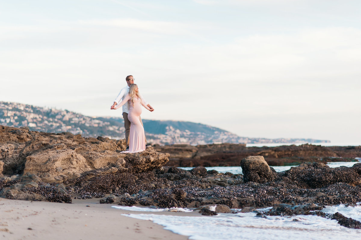 Maternity Photos at Beach002