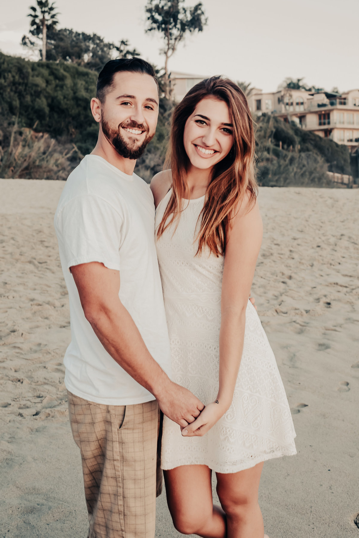 laguna beach engagement shoot
