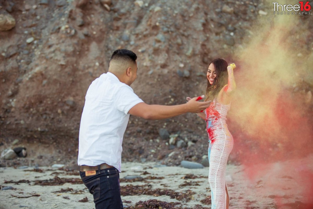 Doheny State Beach Engagement