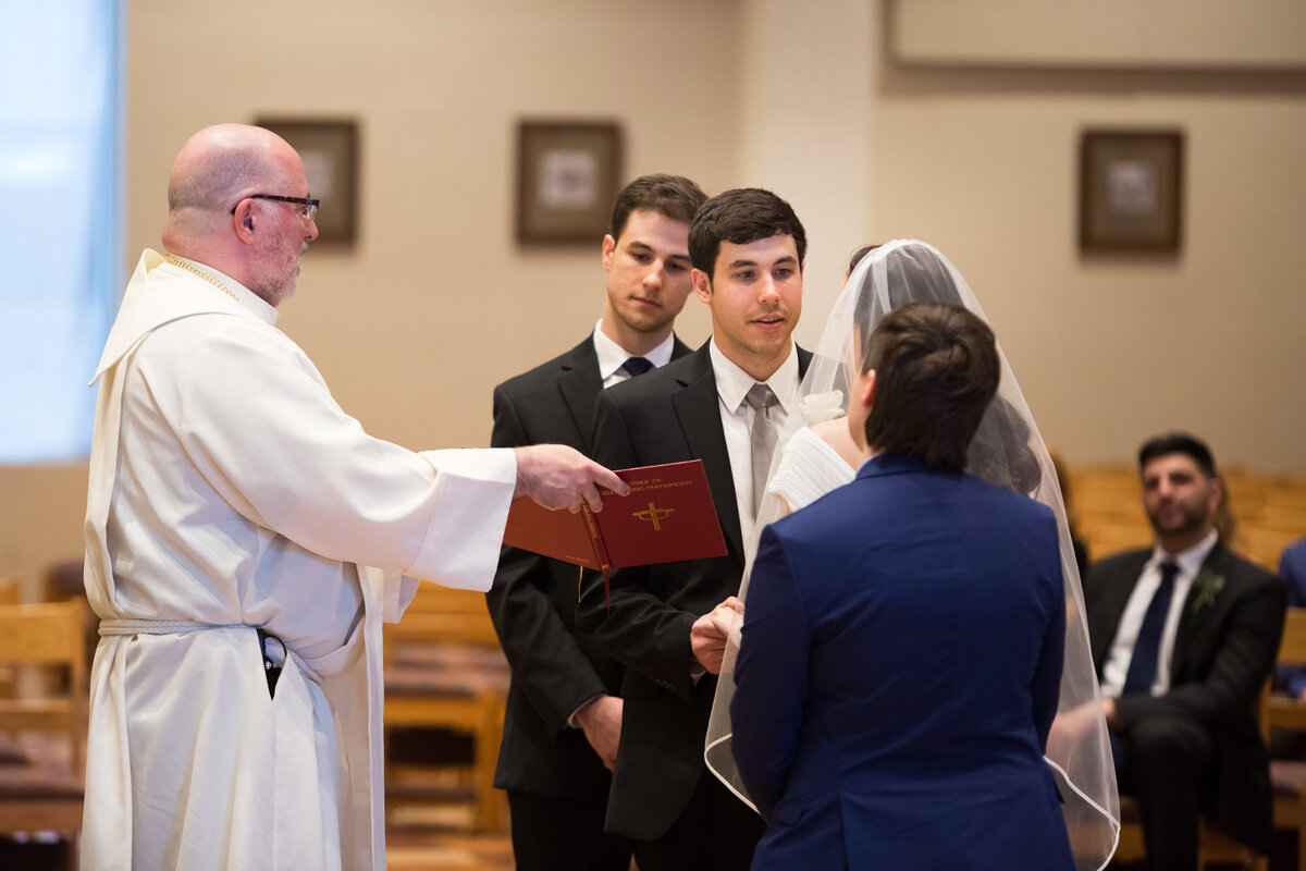 university of texas catholic center wedding