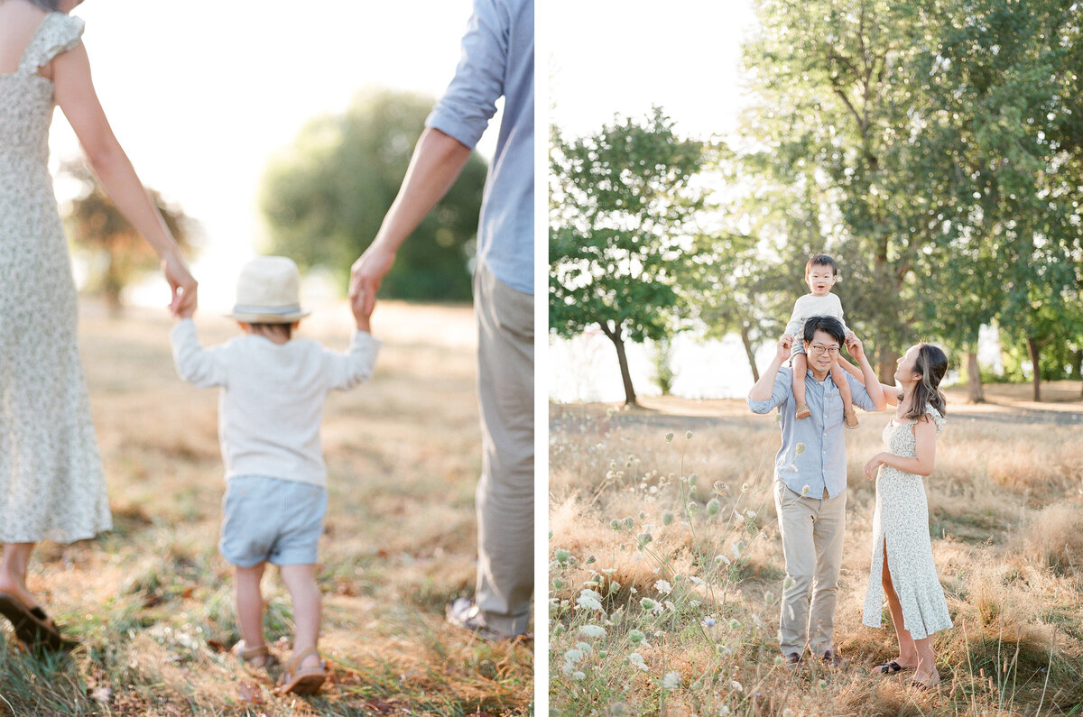 Warren G. Magnuson Park Family Session - Film Family Photography - Seattle - Fine Art - Light and Airy - Family photos - 1