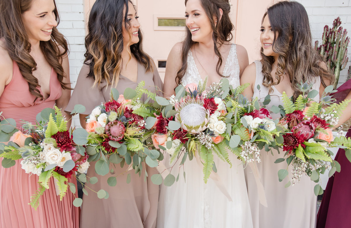 Tampa boho wedding at Fancy Free Nursery 39