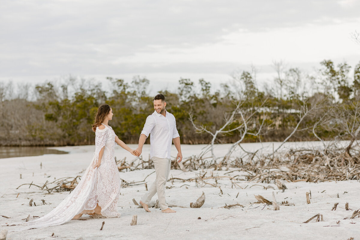 Beach Elopement in Saint Petersburg, Florida 25