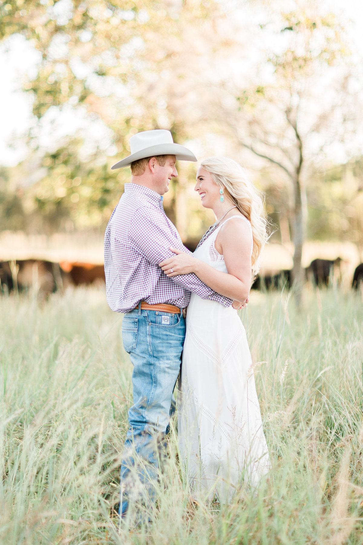 Roos Ranch Roff Oklahoma Engagement Photography
