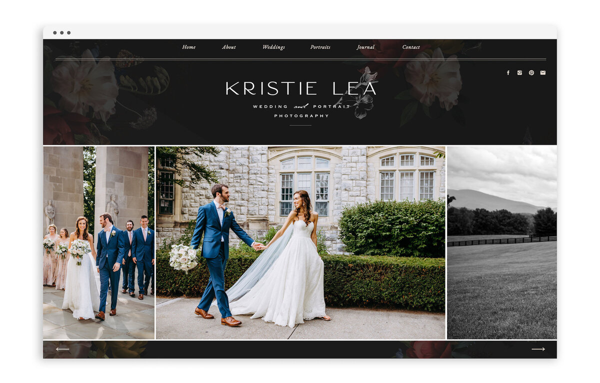 Kristie Lea Photography - Custom Brand and Showit Website Design by With Grace and Gold - Showit Designer, Designers, Theme, Themes, Template, Templates - 4
