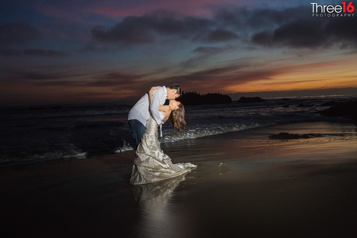 Main Beach Laguna Engagement Photos Professional Orange County Beach Photographer